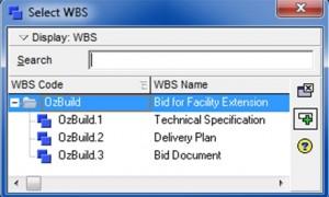 setting wbs activties1